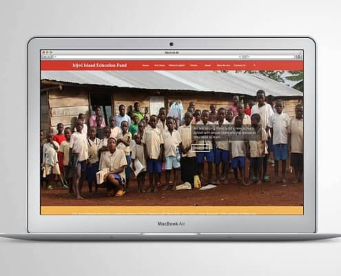 Idjwi Island Education Fund Website