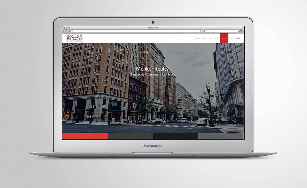 Meliker Realty website