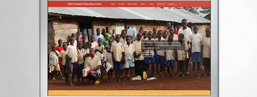 Idjwi Island Education Fund Website