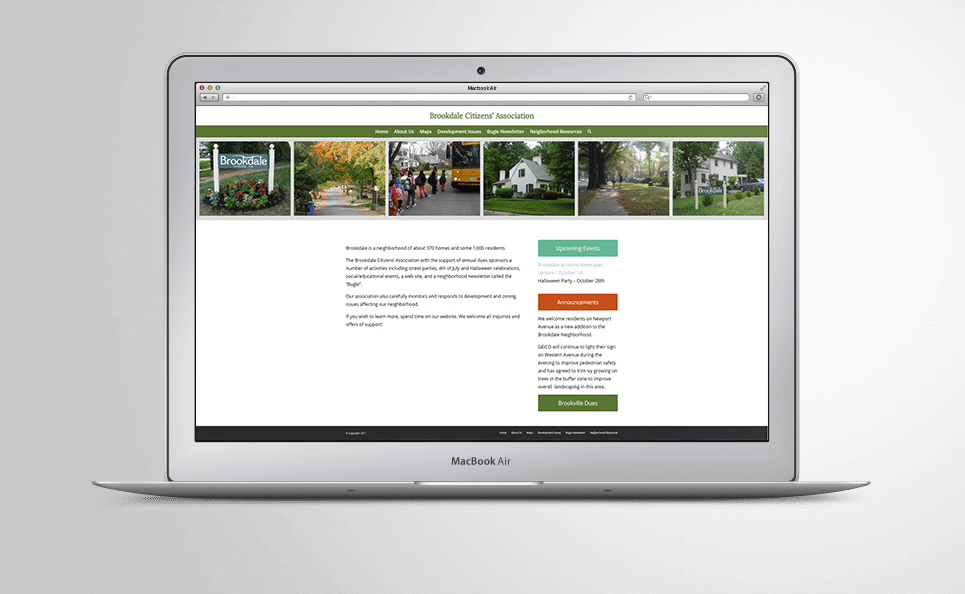 Brookdale Citizens' Association website