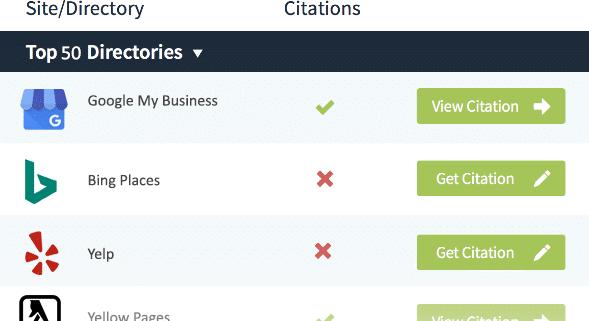 Local Citation Tracker - Top 50