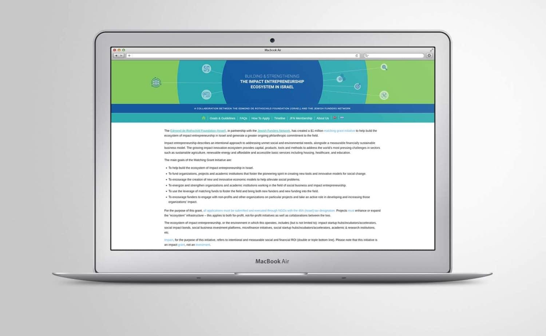 Impact Entrepreneurship Matching Grant Site - Connect4